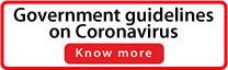 Government guidelines on Coronavirus